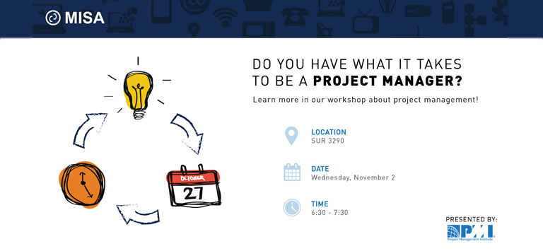 free workshop project management sfu